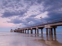 Ocean pier Stock Photo