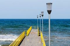 Ocean pier Stock Photos