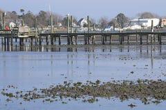 Ocean pier Stock Photography