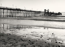 Ocean Pier, California Royalty Free Stock Photography