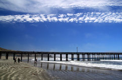 Ocean Pier. Royalty Free Stock Photography