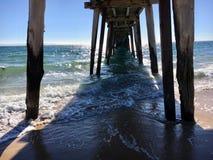 Ocean pier stock images