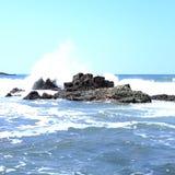 Ocean plaży wody zatoka San Juan Del Sura Nikaragua Obraz Royalty Free