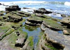 Ocean plaży wody zatoka San Juan Del Sura Nikaragua Zdjęcia Stock