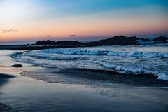 Ocean plaży wody zatoka San Juan Del Sura Nikaragua Zdjęcia Royalty Free