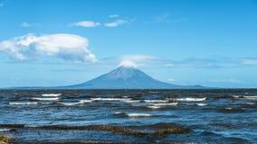 Ocean plaży wody zatoka San Juan Del Sura Nikaragua Zdjęcie Stock
