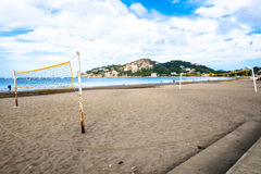 Ocean plaży wody zatoka San Juan Del Sura Nikaragua Obraz Stock