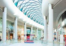 Ocean Plaza shopping mall interior Royalty Free Stock Image
