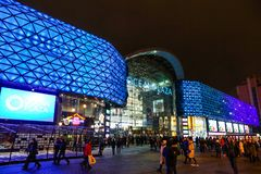 Ocean Plaza shopping mall in Kyiv, Ukraine Stock Photography