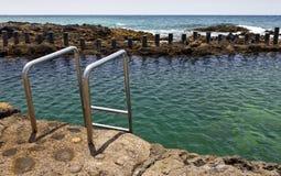 Ocean pools of Puerto de las Nieves, Gran Canaria Royalty Free Stock Photo