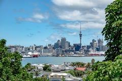 City skyline, Auckland, New Zealand royalty free stock image