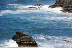 Ocean in Portugal Stock Photography