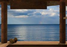 Ocean przeglądać od kioska Obrazy Royalty Free