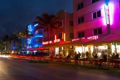 Ocean przejażdżka, Miami zdjęcia stock