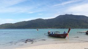Ocean przy Koh lipe Thailand fotografia royalty free