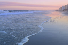 Ocean przy zmierzchem Obrazy Royalty Free