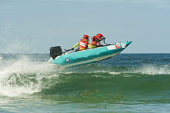Ocean Racing Royalty Free Stock Photo