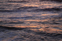 Ocean Reflections at Sunset Royalty Free Stock Image