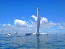 Ocean regatta Stock Photos