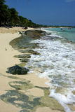 Ocean in  republica dominicana Stock Image