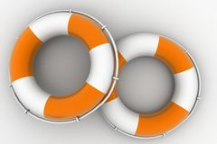 Ocean Rescue boats Stock Photo