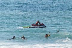Ocean rescue Royalty Free Stock Photos