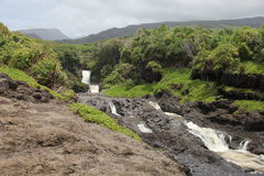 Ocean river. Maui hawaii, very good for any kind of manipulation Stock Photography