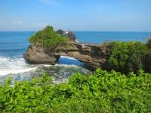Ocean rock near Pura Batu Bolong temple, Bali Royalty Free Stock Image