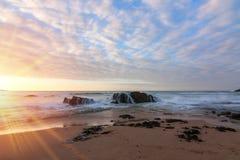Ocean rocks Royalty Free Stock Photos