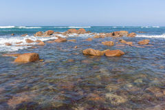 Ocean Rocks Horizon Landscape Royalty Free Stock Photo