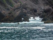 Ocean, Rocks & Waves royalty free stock photo