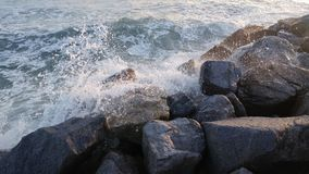 Ocean Rocks Stock Image