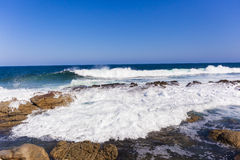 Ocean Rocky Coastline Royalty Free Stock Photography