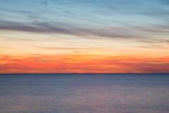 Ocean, rozmyty ruchu tło Obrazy Stock