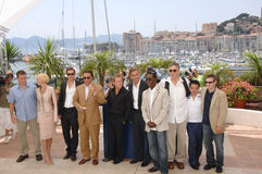 Ocean's Thirteen stars Stock Image