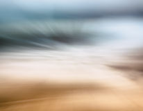 Ocean Sand Abstract Stock Photo