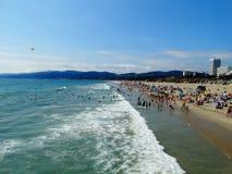 Ocean. Santa Monica, California Royalty Free Stock Images