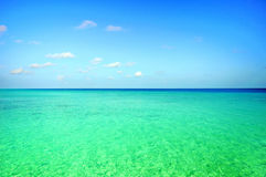Ocean scene. Picture of ocean scene at Maldives Royalty Free Stock Photo