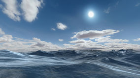 Ocean scene Stock Photo