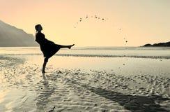 Ocean, Sea, Beach, Sun, People Royalty Free Stock Photos