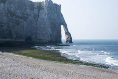 Ocean sea cliff Royalty Free Stock Photos