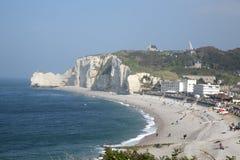 Ocean sea cliff Stock Photos