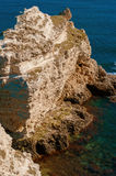 Ocean and sea cliffs in  summer Stock Photo