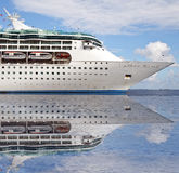Ocean sea cruise ship Royalty Free Stock Photography