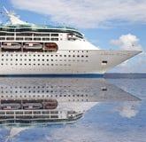 Ocean sea cruise ship. Photo of a ocean sea cruise ship Royalty Free Stock Photography