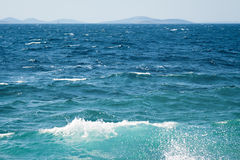 Ocean or sea nature water surface. Ocean or sea summer nature water surface stock images