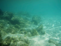 Ocean seabed Royalty Free Stock Photography