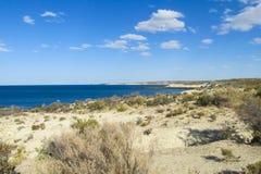Ocean seaside in Atlantic coast Royalty Free Stock Photos