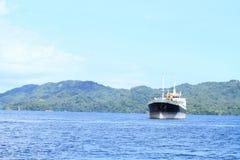 Ocean ship Stock Images