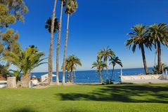 Ocean shore. Beautiful ocean shore in Catalina island Stock Photography